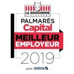 Palmarès Capital Meilleur Employeur 2019 pour le secteur de la restauration à table : La Boucherie restaurant